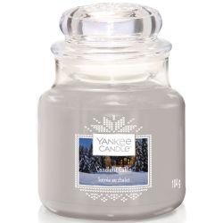 Yankee Candle Jar Glaskerze klein 104g Candlelit Cabin