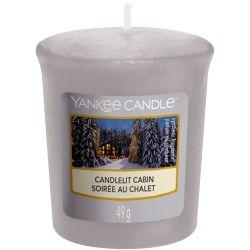 Yankee Candle Sampler Votivkerze Candlelit Cabin