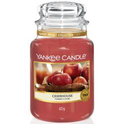 Yankee Candle Jar Glaskerze groß 623g Ciderhouse
