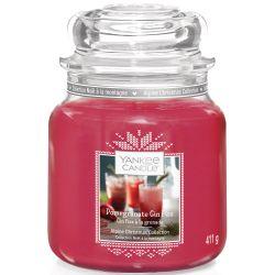 Yankee Candle Jar Glaskerze mittel 411g Pomegranate Gin Fizz