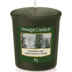 Yankee Candle Sampler Votivkerze Evergreen Mist