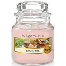 Yankee Candle Jar Glaskerze klein 104g Garden Picnic