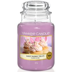 Yankee Candle Jar Glaskerze groß 623g Sweet Bunny Treats