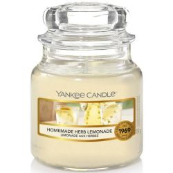Yankee Candle Jar Glaskerze klein 104g Homemade Herb Lemonade
